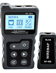 cheap -NF-488 PoE Tester Inline Tester For Power Over Ethernet Cable Tester / Power measuring instrument DC5-60V Multi Function / Measure