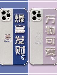 billige -etui til iphone 11 mønster bagcover ord sætning tegneserie tpu etui til iphone 11 pro max / se2020 / xs max / xr xs 7/8 7/8 plus