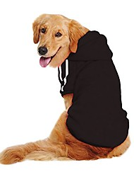 cheap -dog sweater hoodie for large dog, dog hoodie sport coat, 3xl, black