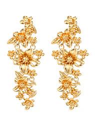 cheap -Women's Drop Earrings Earrings Dangle Earrings Chandelier Holiday Fashion Roses Luxury Elegant Romantic Fashion Victorian Earrings Jewelry Gold For Wedding Party Evening Gift Engagement Festival 1