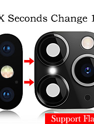 cheap -AppleScreen ProtectoriPhone XS High Definition (HD) Camera Lens Protector 1 pc Titanium Alloy