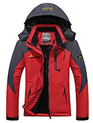 cheap -Men's Women's Mountain Waterproof Ski Jacket Windproof Rain Jacket Winter Warm Snow Coat