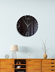 cheap -Morden Acrylic Wall Clock, Silent Non-Ticking Mirror Wall Clocks Battery Operated Decorative Wall Clock for Office, Kitchen, Living Room
