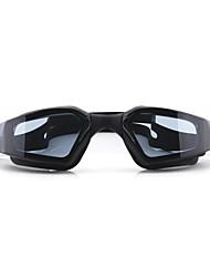 cheap -Swimming Goggles Waterproof Anti-Fog Adjustable Size Anti-UV UV Protection Mirrored For Silica Gel PC Blacks Light Pink Oranges Black Blue Light Pink