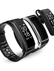 cheap -DT18 Unisex Smartwatch Bluetooth Waterproof Blood Pressure Measurement Hands-Free Calls Camera Camera Control ECG+PPG Pedometer Call Reminder Activity Tracker Sleep Tracker