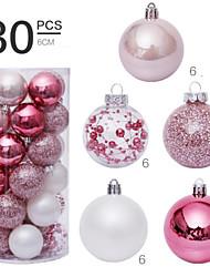 cheap -30 Pcs 6cm Christmas Balls Ornaments for Xmas Tree - Shatterproof Christmas Tree Decorations Hanging