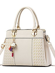 cheap -womens handbags and purses fashion top handle satchel tote pu leather shoulder bags