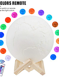 cheap -3D Nightlight Galaxy Starry Sky LED Lighting 5 V Built-in Li-Battery Powered for Birthday Gifts and Party Favors  Birthday Party Party & Evening Festival