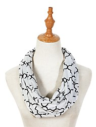 cheap -Unisex Active Infinity Scarf - Floral Washable