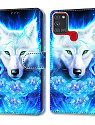 cheap -Case For Samsung Galaxy Note 20 Galaxy Note 20 Ultra Galaxy A21s Wallet Card Holder with Stand Full Body Cases Rose Dick Wolf PU Leather TPU for Galaxy A51 5G Galaxy A71 5G Galaxy S20 Ultra