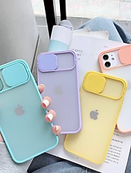 cheap -Camera Lens Protection Phone Case For iPhone SE(2020) 11Pro Max 11Pro 11 Xr Xs Max 8 7 Plus 6s Transparent Solid Colored TPU Back Cover