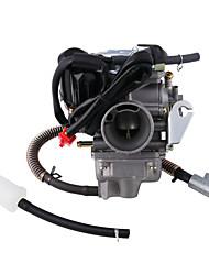 cheap -MB-FP012 PD24J Carburetor for 4-Stroke GY6 125cc 150cc ATV Go Karts Scooter Mopeds QMJ/QMI157 QMJ/QMI152 - Manifold Intake Fiameter 24mm PD24J Carb