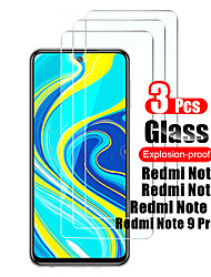 cheap -1/2/3Pcs For Xiaomi Redmi Note 9 Pro Max Tempered Glass Screen Protector Protective Film For Xiaomi Redmi Note9 Pro/Note 9s/9 Glass 9H
