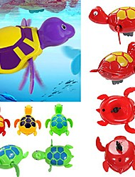 cheap -funny toys swimming chain turtle baby bath toys on the chain swimming water turtle baby bathing water new chain toy puzzle plaything toys and hobbies plastic material (multicolor)