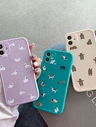 billige -etui til apple iphone 11 stødsikker / støvtæt bagcover ensfarvet / dyr tpu til case iphone 11 pro / 11 pro max / 7/8 / 7p / 8p / se 2020 / x / xs / xs max / xr