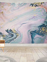 cheap -liquid with marbled blue and pink marble gold rose pink golden acrylic art blue art nature home decorations for living room bedroom dorm decor 80 x 60 inch