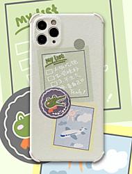 billige -etui til iphone 11 mønster bagcover ord sætning dyr tegneserie tpu etui til iphone 11 pro max / se2020 / xs max / xr xs 7/8 7/8 plus