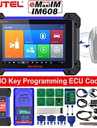cheap -Autel MaxiIM IM608 Top Key Programming Diagnostic Tool for Programming ECU Coding 30 Service Functions with IMMO XP400 Key Programmer J2534 Reprogrammer