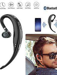 cheap -Handsfree Earphone Wireless Single Ear Hook Bluetooth 5.0 Earphone Headphone Handsfree Microphone for Phone Car Driver Wireless Business Headset
