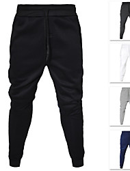 cheap -Men's Sweatpants Joggers Jogger Pants Track Pants Casual Bottoms Drawstring Cotton Fitness Gym Workout Performance Running Training Breathable Soft Sweat-wicking Normal Sport White Black Dark Gray