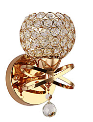 cheap -Wall Sconce Crystal Wall Light Luxury Bedroom Bedside Wall Lamp