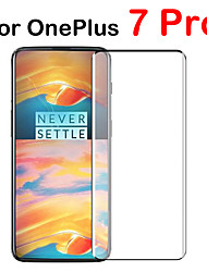 cheap -3PCS Protective Glass Case for Oneplus 7 Pro Tempered Glass Full Cover Screen Protector Film
