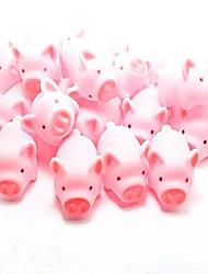 billige -grisebad legetøj, gummi gris baby bad legetøj til børn, grisepynt, 20 stk
