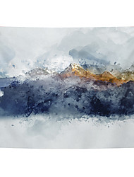 cheap -Chinese Ink Painting Style Wall Tapestry Art Decor Blanket Curtain Hanging Home Bedroom Living Room Decoration Abstract Mountain