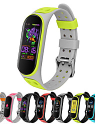 cheap -Colorful Breathable Watch Strap For Xiaomi Mi Band 5 Strap  Replacement For Xiaomi Mi Band 5 Accessories Belt Strap