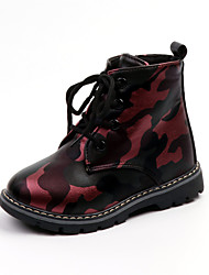 cheap -Boys' Girls' Boots Bootie Casual / Daily Martin Boots Toddler(9m-4ys) Little Kids(4-7ys) Big Kids(7years +) Sports & Outdoor Walking 613 camouflage 615 wine red 615 black