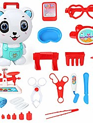 cheap -doctor kit for kids pretend play, medical role play for indoor outdoor and travel, 22 pcs in doctor's suitcase (1 set)