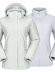 cheap -women's ski jacket waterproof 3 in 1 winter jacket windproof warm fleece hooded snowboard mountain snow coat