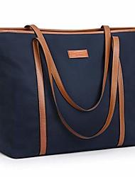 cheap -15.6 inch large tote bag for women nylon work shoulder purse handbag