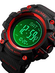 Недорогие -компас часы армия, цифровые спортивные часы на открытом воздухе для мужчин женщин, шагомер высотомер калорий барометр температура водонепроницаемый litbwat