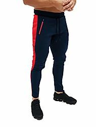 رخيصةأون -الرجال السراويل ، الرجال السراويل البضائع شريطية جيب عارضة الرياضة اللياقة البدنية العمل التدريب السراويل السراويل البحرية