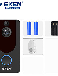 رخيصةأون -eken v7 hd 1080p smart wifi video doorbell camera visual intercom night vision ip door bell wireless security camera