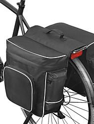 cheap -ROSWHEEL 30 L Bike Panniers Bag Bike Rack Bag Adjustable Large Capacity Waterproof Bike Bag Mesh 600D Polyester Bicycle Bag Cycle Bag MTB / Cycling Road Bike Mountain Bike MTB / Waterproof Zipper