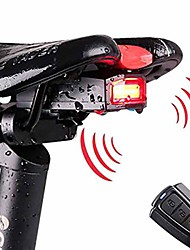cheap -LED Bike Light Security Lights Rear Bike Tail Light Safety Light LED Bicycle Cycling Waterproof Multiple Modes Super Bright New Design Rechargeable Rechargeable / Power USB