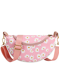 cheap -Women's Bags PU Leather Fanny Pack Pattern / Print 2020 Holiday Outdoor White Black Purple Red