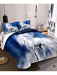 cheap -3D Animal Digital Print 3 Pieces Bedding Set Duvet Cover Set Modern Comforter Cover Ultra Soft Hypoallergenic Microfiber and Easy Care(Include 1 Duvet Cover and 1 or2 Pillowcases)