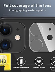 cheap -9D Camera Protector on for iPhone 12 11 Pro Max Full Back Lens Protective Glass Screen Protector For iPhone 11 Pro Camera Accessories