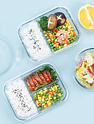 cheap -Food Container Lunch Box Rectangular Heat Resistant with Lid Storage Box Offered