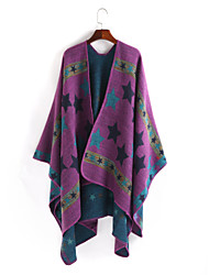cheap -Sleeveless Artistic / Retro / Shawls Imitation Cashmere Wedding / Party / Evening Shawl & Wrap / Women's Wrap With Patterned