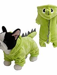 cheap -Dog Pets N / A Cloth Dog Coat Dog Shirt / Dog T-shirt Party Cotton Winter Dog Clothes Puppy Clothes Dog