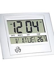 cheap -Multi-function Electronic Temperature Meter Digital Calendar Wall Clock Alarm Clock