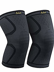 cheap -compression sleeve for knee 2 pack- knee brace-knee support men and women for running,hiking,basketball,tennis,gym,weightlifting etc-check the best fit size first(l size)