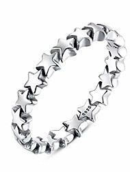 cheap -sterling silver mom star fashion ring for women
