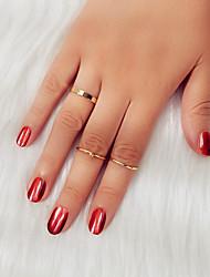 cheap -Ring Gold Silver Alloy Fashion 1 set 7 / Women's