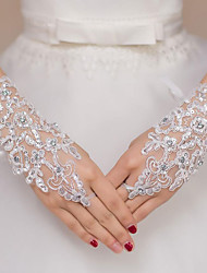 cheap -Lace Wrist Length Glove Ultra Sexy With Solid