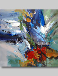 cheap -Oil Painting Hand Painted - Abstract Still Life Comtemporary Modern Stretched Canvas